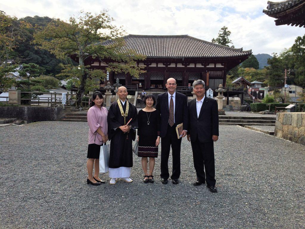 米国総領事館総領事アレン・グリーンバーグご夫妻をお迎えしました。
