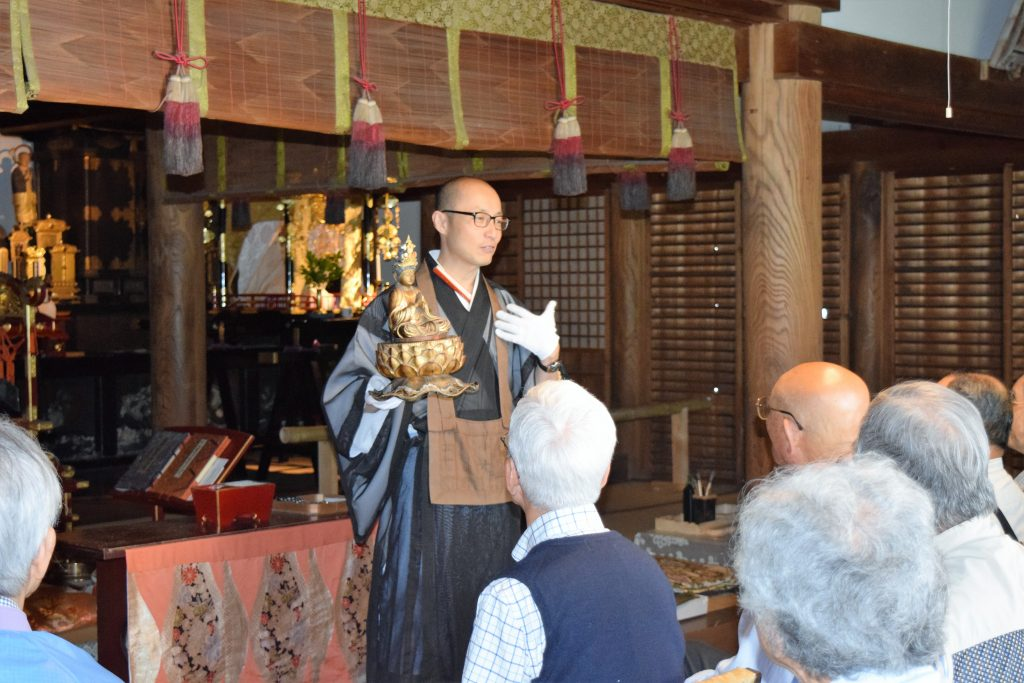 朱雀の会の皆様方を迎えて~當麻寺練供養会式と中将法如尼~